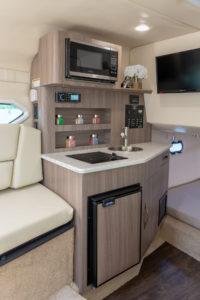 Underdeck cabin of Regal 26 XO