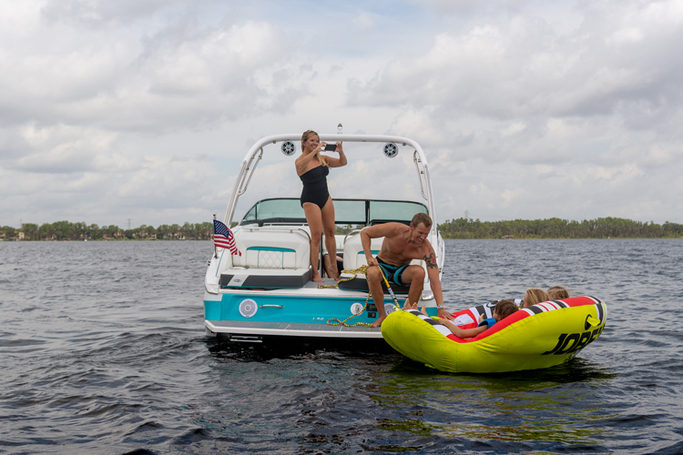 The Regal LS6 Surf - the ultimate in watersports entertainment