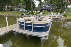 Sheltered Cove Marina is NJ's exclusive Barletta Pontoon boat delaer