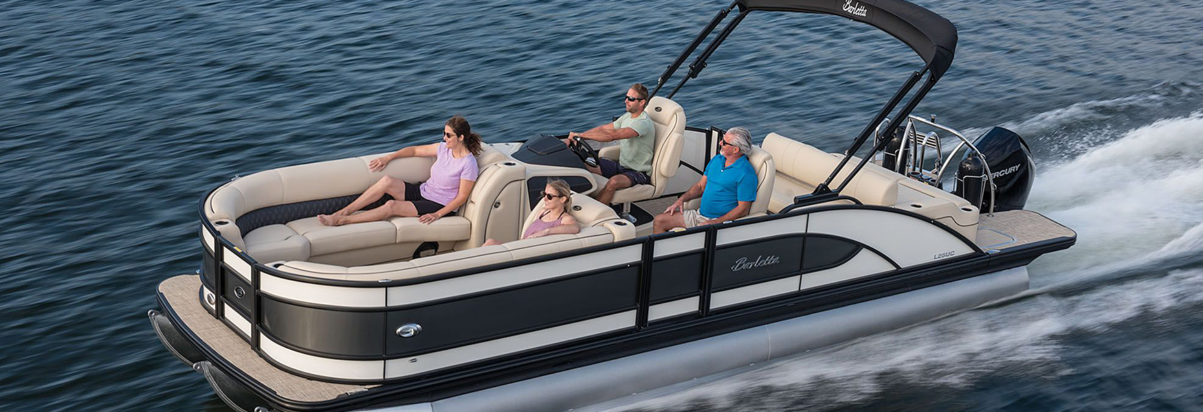 NJ's exclusive Barletta Pontoon boat dealer