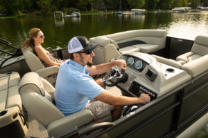 Barletta Pontoons have the most standard amenities in the industry