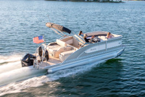 Barletta Pontoons perform unlike any other pontoon boat on the market