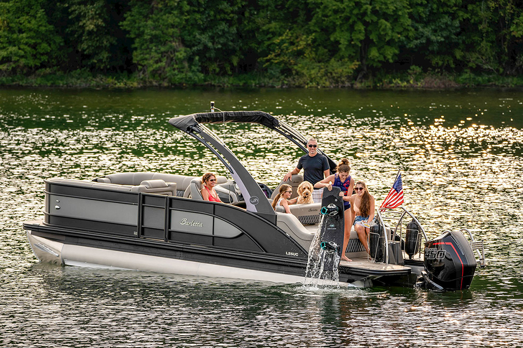 Barletta Pontoon boats are the most luxurious pontoon boat on the market