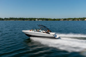 Regal's LS2 features a FasTrac hull for increased performance and speed