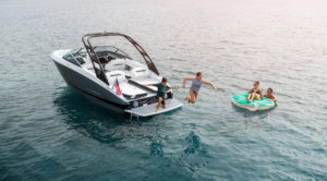 The Regal LS4 also features a FasTrac hull which drastically improves performance over the competition